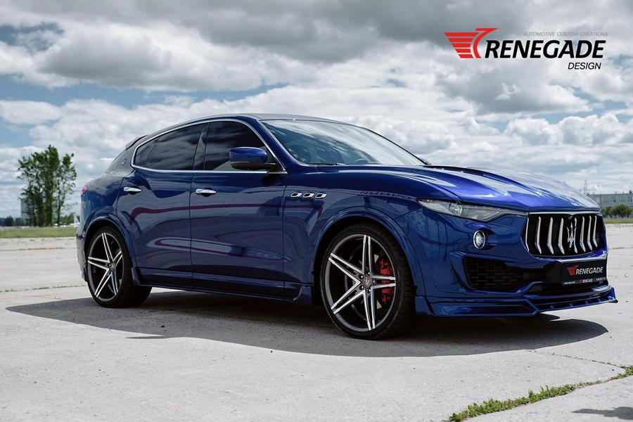 Renegade Design Bodykit Tuning Maserati Levante 11 Dezent: Renegade Design Bodykit am Maserati Levante