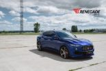Renegade Design Bodykit Tuning Maserati Levante 18 155x104 Dezent: Renegade Design Bodykit am Maserati Levante