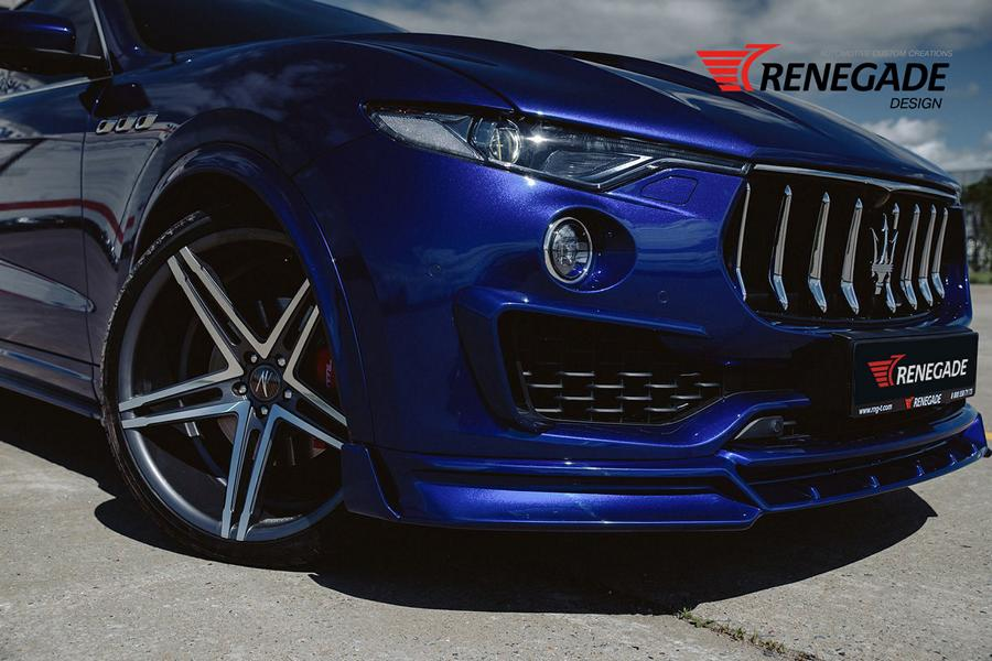 Renegade Design Bodykit Tuning Maserati Levante 20 Dezent: Renegade Design Bodykit am Maserati Levante
