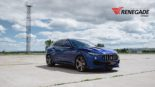 Renegade Design Bodykit Tuning Maserati Levante 21 155x87 Dezent: Renegade Design Bodykit am Maserati Levante