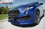 Renegade Design Bodykit Tuning Maserati Levante 6 155x99 Dezent: Renegade Design Bodykit am Maserati Levante