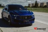 Renegade Design Bodykit Tuning Maserati Levante 9 155x103 Dezent: Renegade Design Bodykit am Maserati Levante