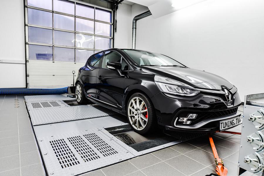 Speed Buster Renault Clio R.S. Chiptuning 2 Kampfzwerg   Speed Buster Renault Clio R.S. mit 293 PS