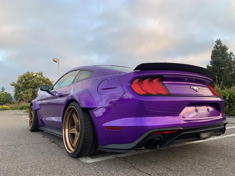 TJIN Edition Ford Mustang Widebody 24 TJIN Edition Ford Mustang Widebody zur SEMA Auto Show