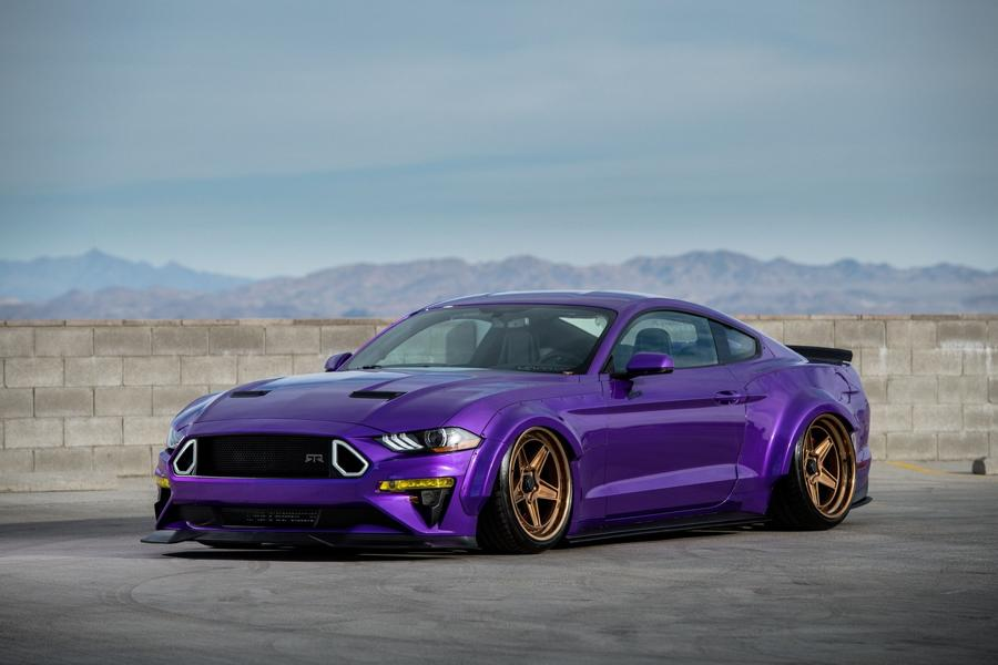 TJIN Edition Ford Mustang Widebody 25 TJIN Edition Ford Mustang Widebody zur SEMA Auto Show