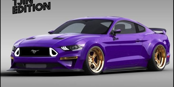 TJIN Edition Ford Mustang Widebody for the SEMA Auto Show