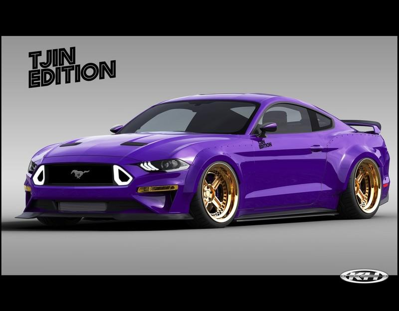 TJIN Edition Ford Mustang Widebody SEMA 2018 Tuning 1 TJIN Edition Ford Mustang Widebody zur SEMA Auto Show