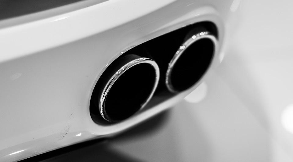 Tuning Auspuffblende Tolle Optik   kleiner Preis, Auspuffblenden zum Auto aufwerten
