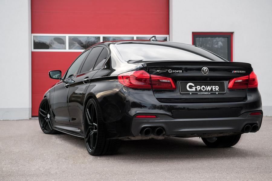 Tuning BMW G30 M550i G-Power (3)