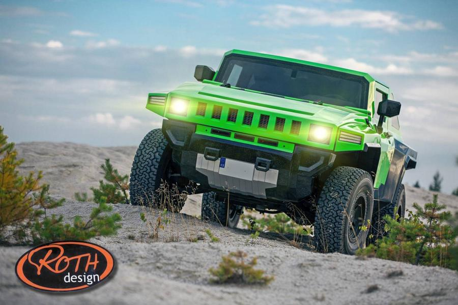 Tuning Bureko 4x4 1 Hummer reloaded: 700 PS Hennessey Bureko 6x6 Monster