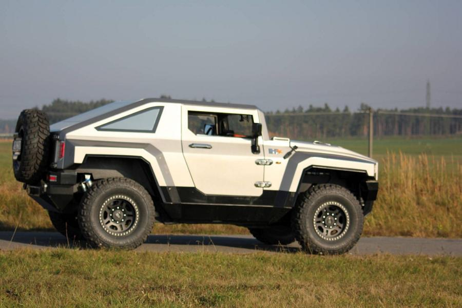 Tuning Bureko 4x4 5 Hummer reloaded: 700 PS Hennessey Bureko 6x6 Monster