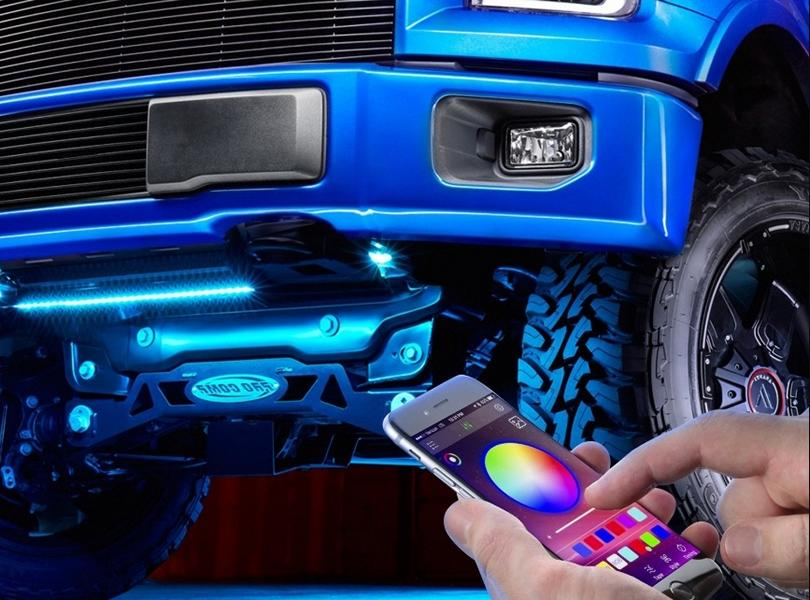 Unterboden Beleuchtung LED Handyapp Tuning 2 Optisches Tuning ohne Erlaubnis: Unterbodenbeleuchtung