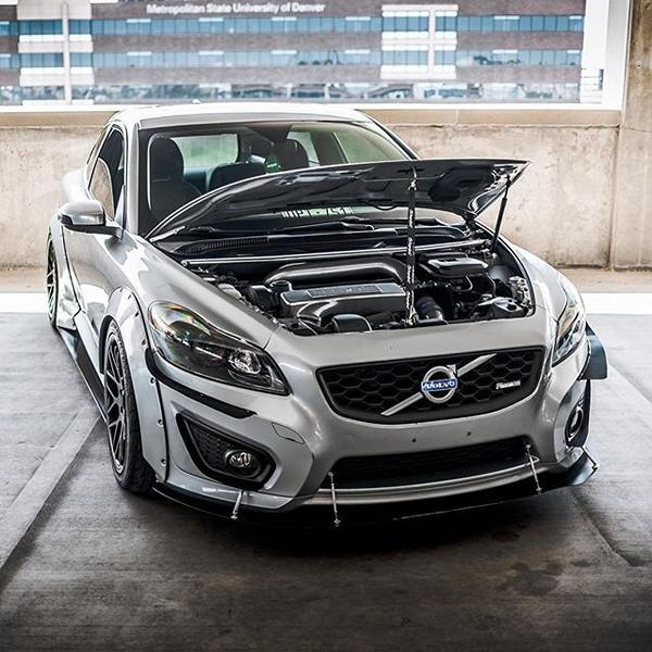 Volvo V30 Clinched Widebody-Kit Vertini Tuning (9)