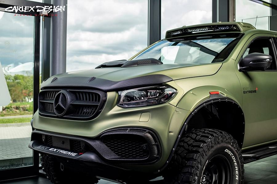 X Class Exy Extreme Mercedes W470 Tuning Bodykit 2 X Class Exy Extreme   Mercedes W470 auf Steroiden