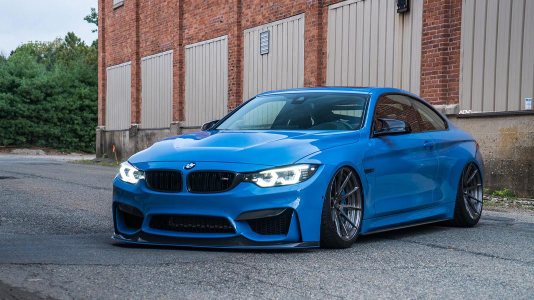 Bmw M4 Coupe >> Yas Marina Blue Adv 1 Wheels On The Bmw M4 Coupe