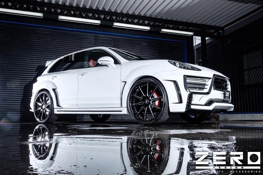 ZERO Design Porsche Cayenne Widebody 958 Tuning 10 Porsche in Japanese ZERO Design Cayenne Widebody