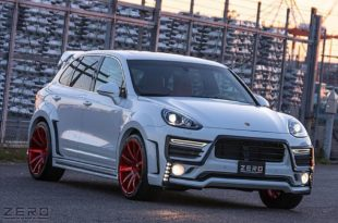 ZERO Design Porsche Cayenne Widebody 958 Tuning 12 310x205 Porsche in Japanese ZERO Design Cayenne Widebody