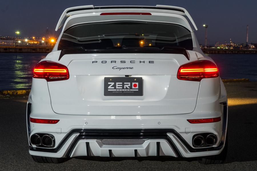 ZERO Design Porsche Cayenne Widebody 958 Tuning 2 Porsche in Japanese ZERO Design Cayenne Widebody