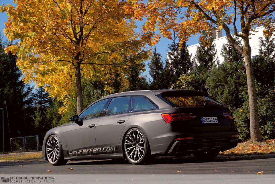 Brand New Audi A6 C8 Avant With Foil In Ultrablack