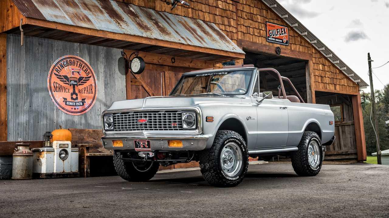 1971 Ringbrothers Chevrolet K 5 Blazer Restomod Tuning 60 SEMA: 1971 Chevrolet Blazer Restomod von Ringbrothers