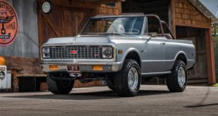 1971 Ringbrothers Chevrolet K 5 Blazer Restomod Tuning 63 310x165 3 x David Brown Restomod Mini in Genf zur Autoshow 2019