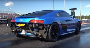 2017 Audi R8 V10 BiTurbo by Evolving Motorsports 310x165 Video: BMW M4 Coupe vs. Dodge Challenger Hellcat