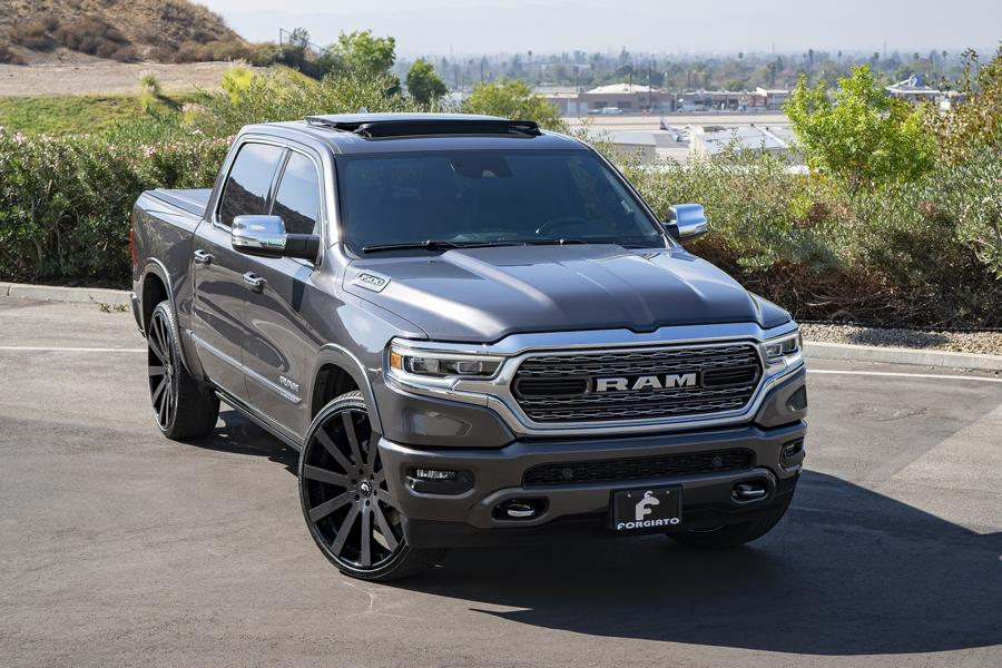 2019 dodge ram 1500 on 26 inch forgiato concavo alus. Black Bedroom Furniture Sets. Home Design Ideas