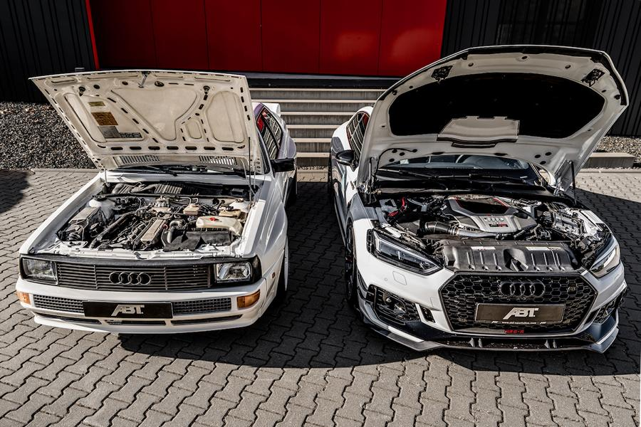 ABT Sportsline Audi B2 Coupe RS5 R Tuning 5 ABT Sportsline Audi B2 Coupe und RS5 R im Shooting