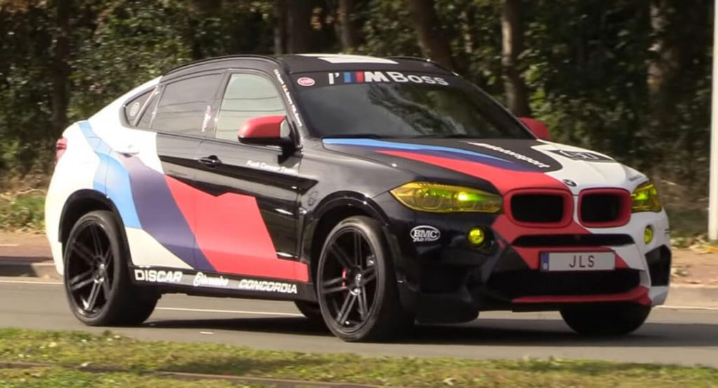 Akrapovic Sportauspuff am 700 PS BMW X6M Video: Akrapovic Sportauspuff am 700 PS BMW X6M