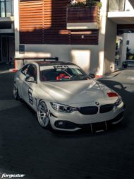 BMW 435i Coupe Forgestar F14 Tuning 15 190x253 Für den Racetrack   BMW 435i Coupe auf Forgestar Alu's