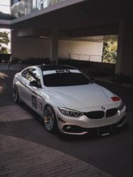 BMW 435i Coupe Forgestar F14 Tuning 6 190x253 Für den Racetrack   BMW 435i Coupe auf Forgestar Alu's