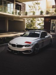 BMW 435i Coupe Forgestar F14 Tuning 8 190x253 Für den Racetrack   BMW 435i Coupe auf Forgestar Alu's