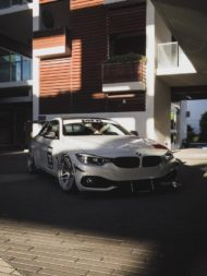 BMW 435i Coupe Forgestar F14 Tuning 9 190x253 Für den Racetrack   BMW 435i Coupe auf Forgestar Alu's