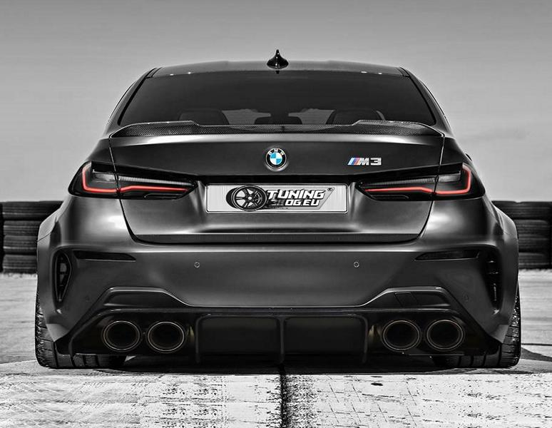 First Preview 2020 Bmw M3 G80 With Widebody Kit