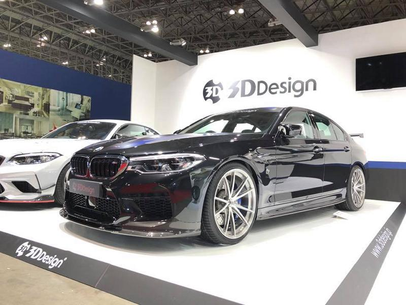 Bodykit 3D Design BMW M5 F90 M2 F87 Competition 2019 17 Carbon Bodykit von 3D Design für den BMW M5 F90