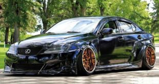 Clinched Lexus IS Widebody FPF RS 2 Airride Tuning 1 1 310x165 Breiter Japaner: Clinched Widebody Lexus IS mit Airride