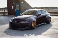 Clinched Lexus IS Widebody FPF RS 2 Airride Tuning 10 190x125 Breiter Japaner: Clinched Widebody Lexus IS mit Airride