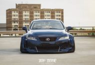Clinched Lexus IS Widebody FPF RS 2 Airride Tuning 14 190x131 Breiter Japaner: Clinched Widebody Lexus IS mit Airride