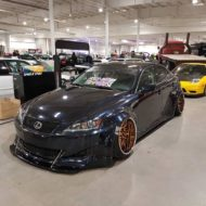 Clinched Lexus IS Widebody FPF RS 2 Airride Tuning 20 190x190 Breiter Japaner: Clinched Widebody Lexus IS mit Airride
