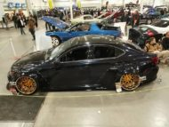 Clinched Lexus IS Widebody FPF RS 2 Airride Tuning 21 190x143 Breiter Japaner: Clinched Widebody Lexus IS mit Airride
