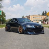 Clinched Lexus IS Widebody FPF RS 2 Airride Tuning 28 190x190 Breiter Japaner: Clinched Widebody Lexus IS mit Airride