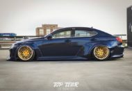 Clinched Lexus IS Widebody FPF RS 2 Airride Tuning 32 190x131 Breiter Japaner: Clinched Widebody Lexus IS mit Airride
