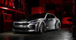 DUB Edition Kia Stinger GT Widebody SEMA Tuning 10 310x165 TOP! 439 PS & 694 NM im Kia Stinger V6 von Giacuzzo