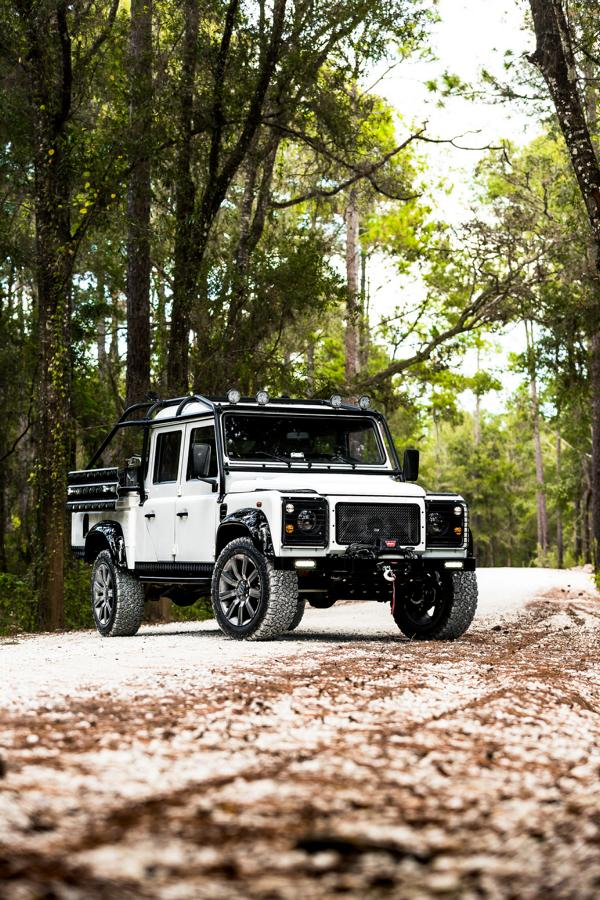 Defender 130 Pickup 565 PS V8 ECD Tuning 2018 2 The Force: Defender 130 Pickup mit 565 PS V8 by ECD