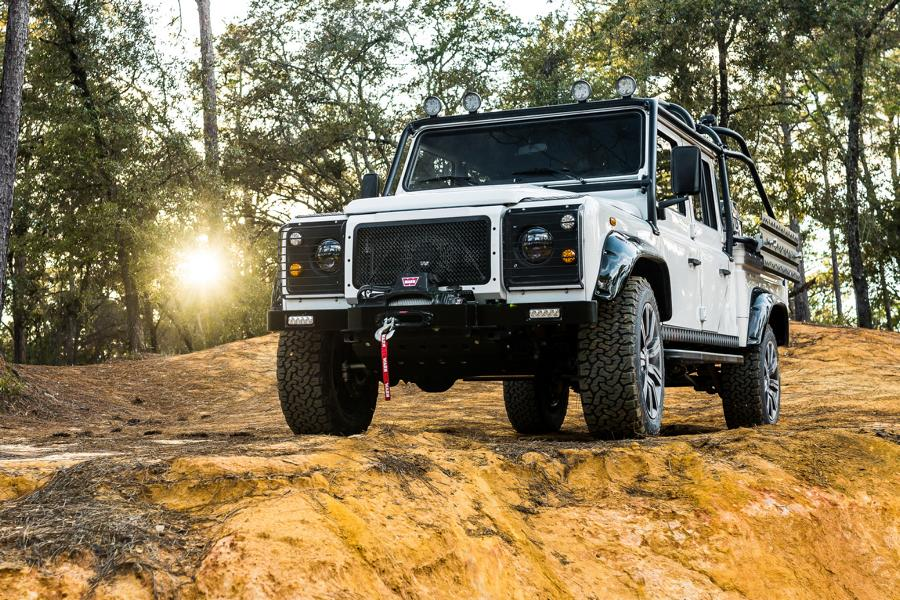 Defender 130 Pickup 565 PS V8 ECD Tuning 2018 21 The Force: Defender 130 Pickup mit 565 PS V8 by ECD