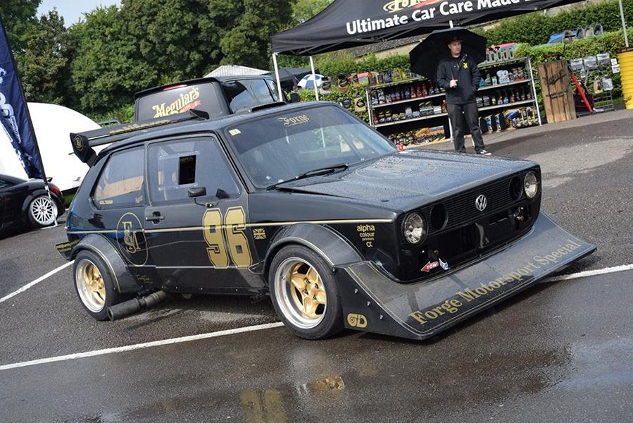 Forge Motorsport VW Golf GTI Mk1 Rabbit Berg Cup Fahrzeug Forge Motorsport   VW Golf GTI Mk1 Rabbit mit 1.8T Power