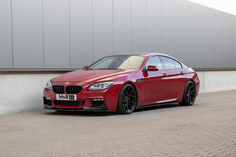 HR Gewindefedern F06 6C BMW Grand Coup%C3%A9 Tuning 1 Bayern Beau: H&R Gewindefedern für das 6er BMW Grand Coupé