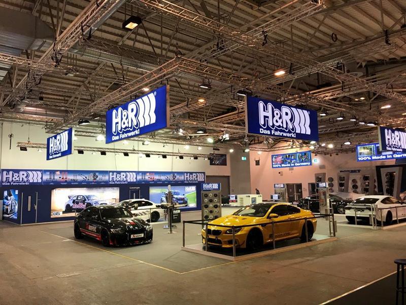 HR EMS 2017 H&R auf der Essen Motor Show 2018