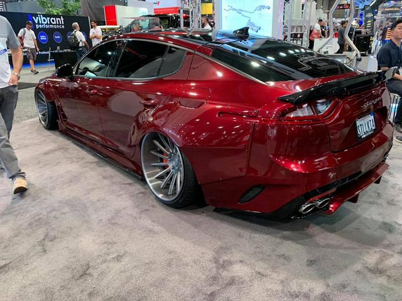 kia stinger legato widebody kit ark performance tuning 13. Black Bedroom Furniture Sets. Home Design Ideas