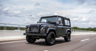 Land Rover Defender D90 V8 by ECD 310x165 The Force: Defender 130 Pickup mit 565 PS V8 by ECD